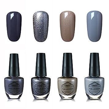Amazon.com: Elite99 Nail Art Laca Brillante Color de esmalte ...