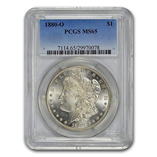 1880 O Morgan Dollar MS-65 PCGS $1 MS-65 PCGS