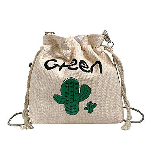 Widewing , Sac pour femme à porter à l'épaule Vert Cactus