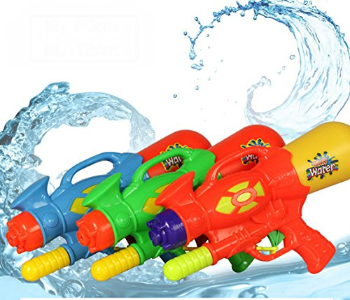 Teely High Pressure Pump Action Big Water Gun Summer Outdoor Fun & Sports Game Shooting Kids Toys Plastic