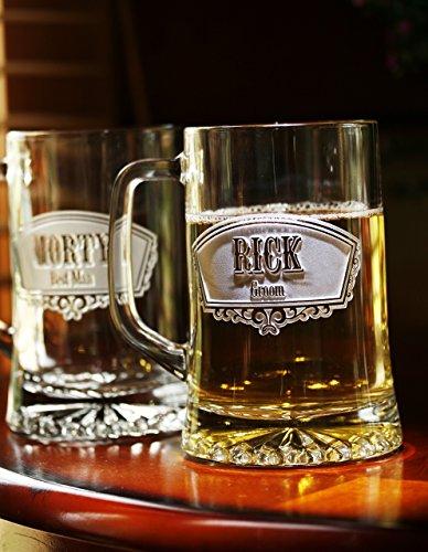 Groomsmen Beer Mugs Best Gifts product image