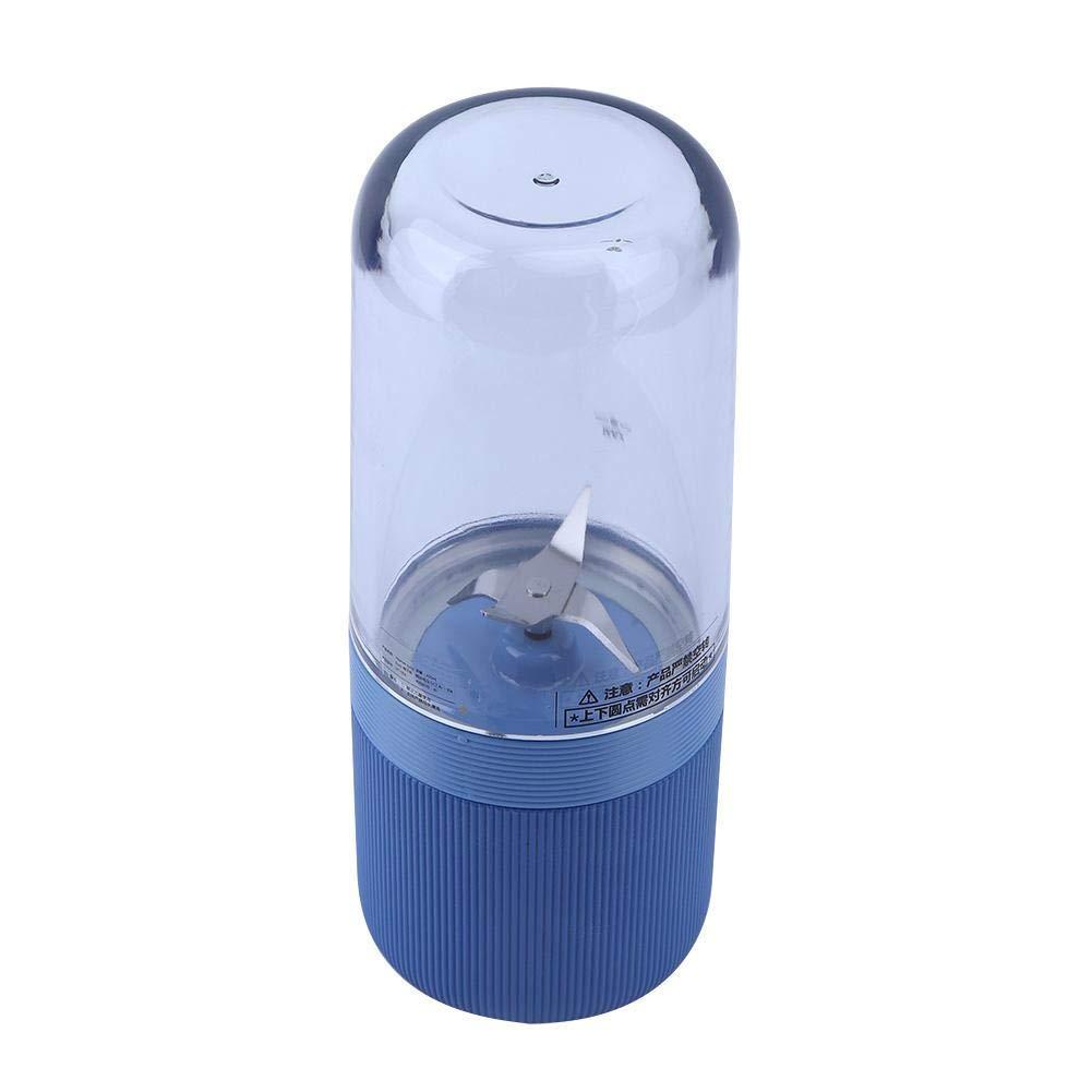 Blu Mini Travel Fruit USB Juicer Cup Portable USB Ricarica Tazza di Succo di vitamine Ricaricabile Juice Cup Personale Piccolo Succo Elettrico Mixer Macchina frullatore