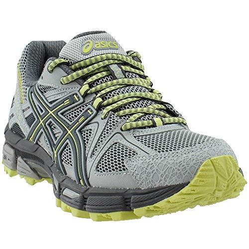 ASICS Gel-Kahana 8 Trail Running Shoes - Women's, Mid Grey/Carbon/Limelight, T6L5N.9697-7.5