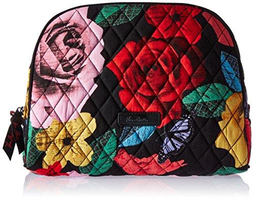 (Vera Bradley Large Zip Cosmetic, Havana Rose  ( Pattern May Vary ))