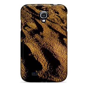 Tpu Case Cover For Galaxy S4 Strong Protect Case - Sands Design