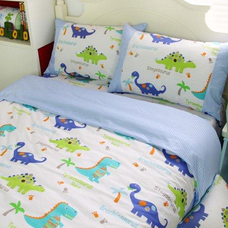 fadfay home textile dinosaur bedding sets anime bed sheets set cute kids queen size cartoon. Black Bedroom Furniture Sets. Home Design Ideas