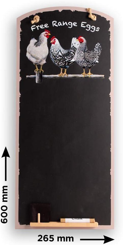 decorazione lavagna piccola Rosenice memo 26 x 14 cm