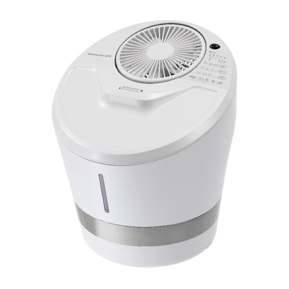 多様な カモメ 加湿器 クレベリン ハイブリッド式 クレベリン 加湿器 LED搭載 カモメ パールホワイト KKHQ-651C 単品 B013W0F1YO, カササチョウ:5d386f41 --- irlandskayaliteratura.org