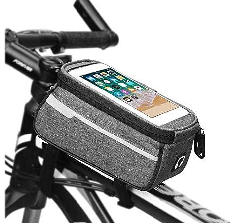 WESEEDOO Bolsa de Bicicleta Tenedor del teléfono Celular de ...