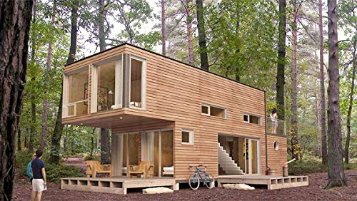 Timber House - Timber House dual 40 foot containers
