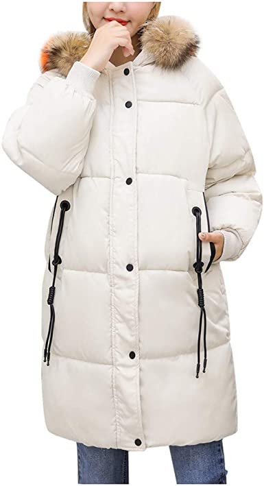 Poachers Sudadera Mujer Abrigo Largo de algodón con Capucha ...