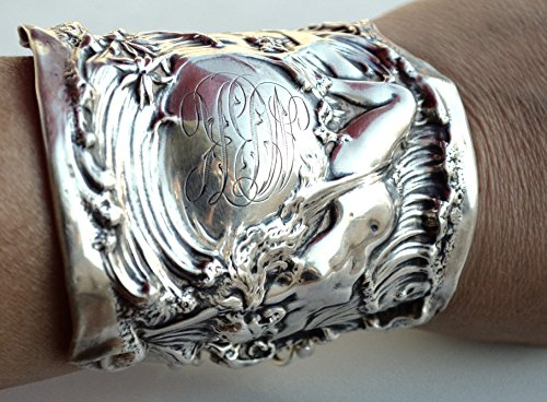 rare-victorian-antique-mauser-nude-lady-le-vision-figure-woman-armlet-cuff-bracelet-art-nouveau-925-