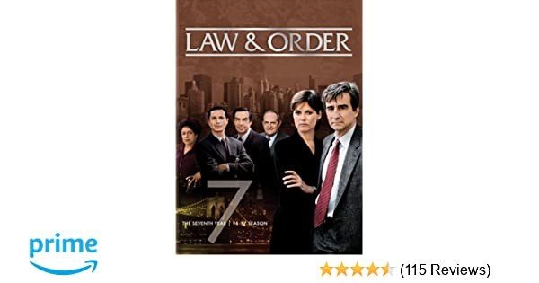 Amazoncom Law Order The Seventh Year Benjamin Bratt