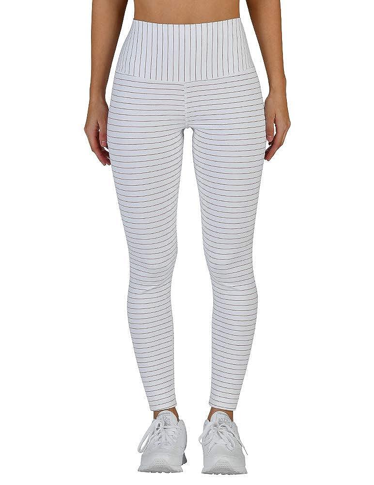 9fd5e05d72af5 Glyder Sultry Legging: White/Copper Shimmer Stripe at Amazon Women's  Clothing store: