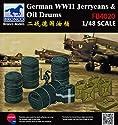 ブロンコモデル 1/48 ドイツ ドラム缶&ジェリカンセット エッチングパーツ付 プラモデル CBF48020の商品画像