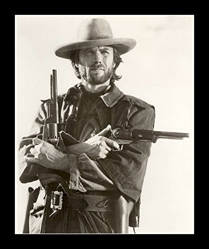 8 x 10 All Wood Framed Photo Clint Eastwood Outlaw Josey Wales Gatsbe Exchange