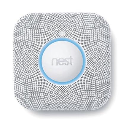 Protege de nido S2003BW de humos y detector de monóxido de carbono
