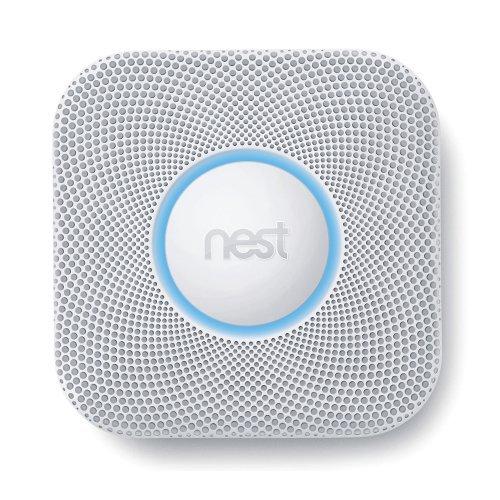 Nest S2003LW Kohlenmonoxid- / Rauchmelder, 230V