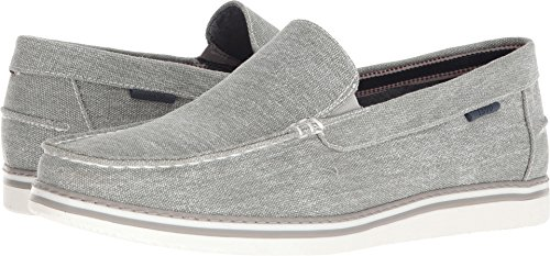 IZOD Men's Damiano Loafer, Light Gray, M085 M US (Light Gray Mens Shoes)