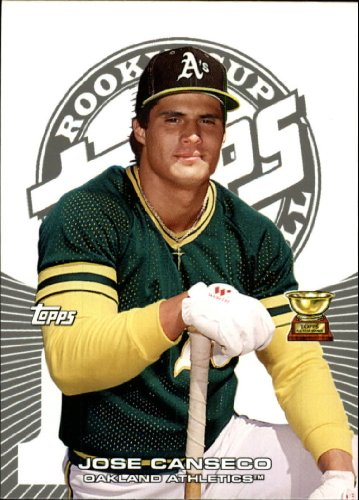 (2005 Topps Rookie Cup Baseball Rookie Card #60 Jose Canseco)