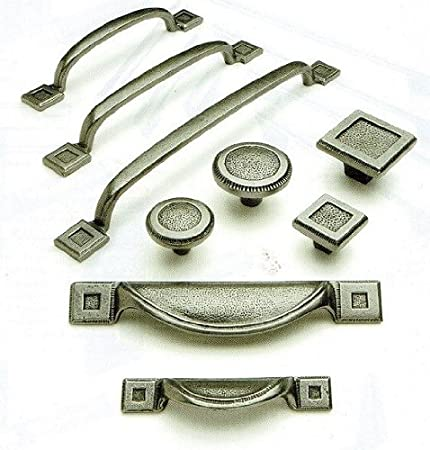 Handles Ironmongery Cast Iron Antique Pewter Cabinet