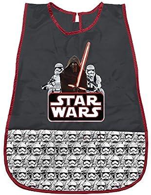 PERLETTI Delantal Infantil de Disney Star Wars - Bata Escolar ...