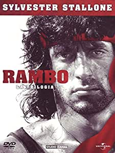 Sylvester Stallone - Rambo - La trilogia Italia DVD: Amazon.es: Steven Berkoff, David Caruso, Richard Crenna, Brian Dennehy, Jerry Goldsmith, Charles Napier, Kurtwood Smith, Sylvester Stallone, George Pan Cosmatos, Ted Kotcheff, Peter
