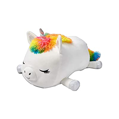 """Aria the Unicorn Jumbo Squishmallow Stuffed Animal Plush Pillow - Soft and Cute Hugging Pillow - 20"""" Tall Squishy Body Pillow - Justice Exclusive: Toys & Games"""