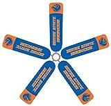 Fan Blade Designs Boise State University - Version 2 - Ceiling Fan Blade Covers