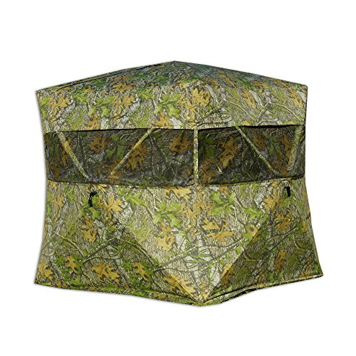 Rhino Blinds R600-MOO 3 Person Hunting Ground Blind, Mossy Oak Obsession