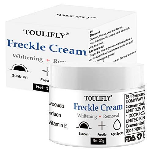Dark Spot Corrector,Freckle Cream,Skin Lightening Cream,Freckle Remover,Bleaching Cream Fade Cream for Face Body Hyperpigmentation Age Spot Freckles Melasma