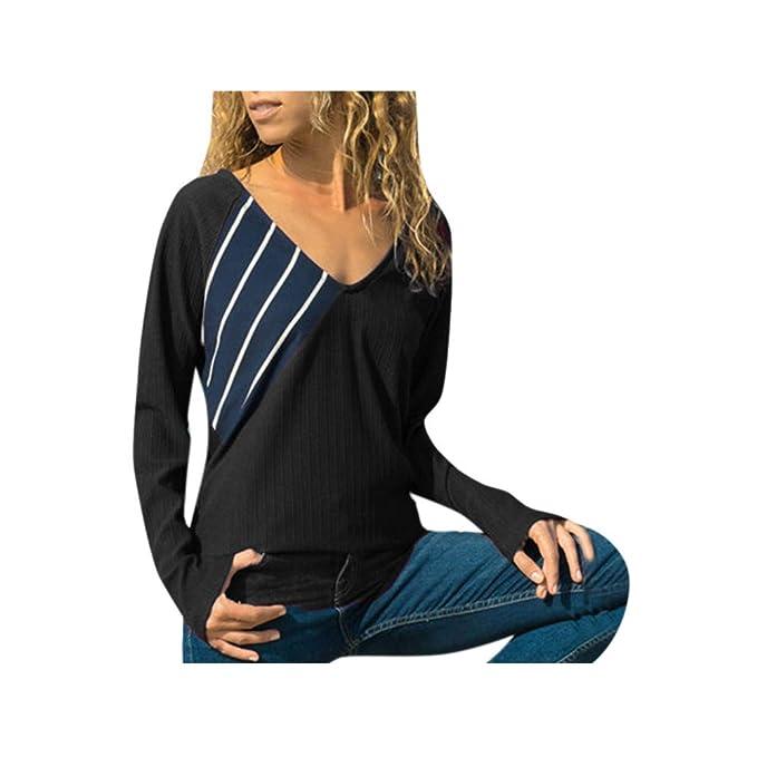 meistverkauft heiß-verkaufender Beamter eine große Auswahl an Modellen Basic Langarmshirt Damen - Bluse Damen Elegant - Tops Damen ...