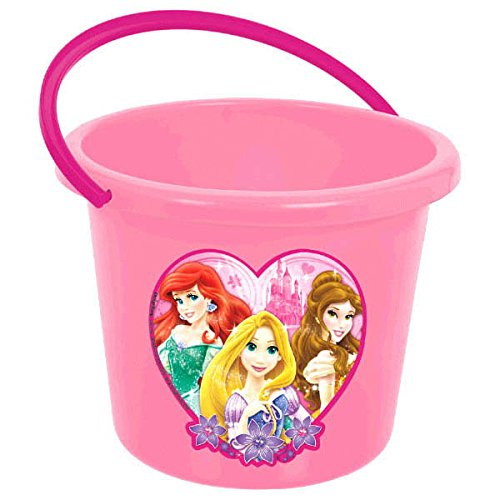 Disney Ariel Favor Bucket (Amscan (Amsdd) Disney Princess Jumbo Favor Container Childrens-Party-Supplies)