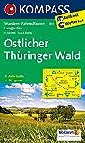 Östlicher Thüringer Wald: Wanderkarte mit Aktiv Guide, Radwegen und Loipen. 1:50000 (KOMPASS-Wanderkarten, Band 813)