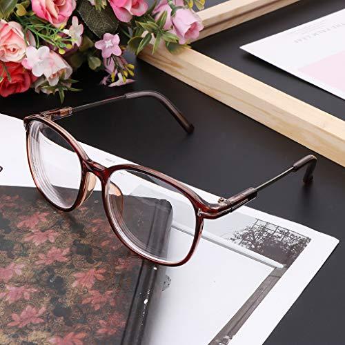 Gafas de miopía ultraligeras y terminadas para hombres, mujeres, gafas de visión corta, de 1,0-1,5-2,0-2,5-3,0-3,5-4,0-5,0-5,5-6,0, negro, 600: Amazon.es: ...