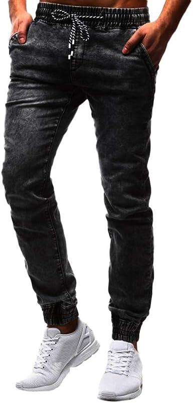 STRIR Pantalones de Hombre Casuales Chino Deporte Joggers Pants ...