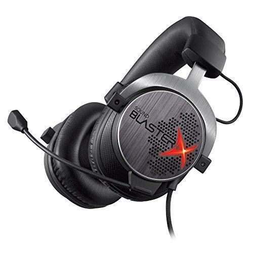 Creative Labs Sound BlasterX H7 Gaming Headset 3.5mm Circumaural Black