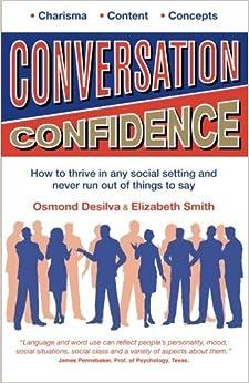 Book Conversation Confidence by Osmond DeSilva (2013-08-15)