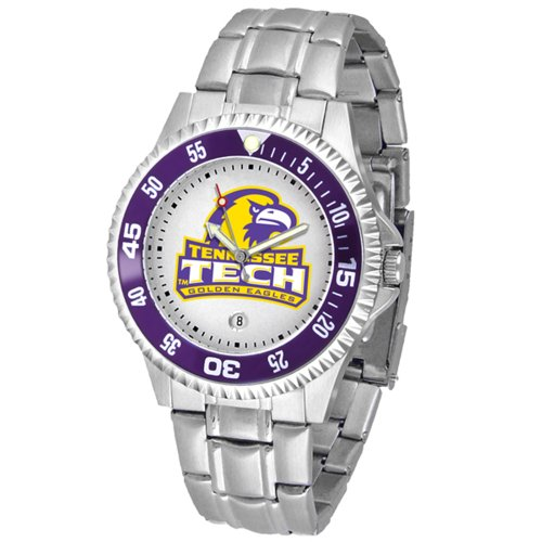 Watch Eagles Competitor - Linkswalker Mens Tennessee Tech Eagles Competitor Steel Watch