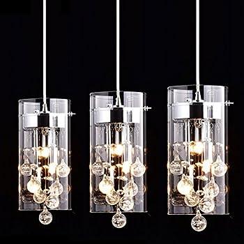 claxy ecopower lighting glass u0026 crystal pendant lighting modern chandelier for kitchen3 lights