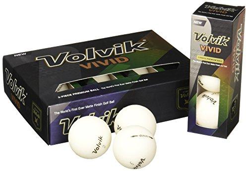 - Volvik Vivid Golf Balls 1-Dozen White