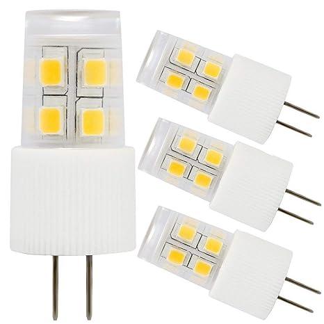 3 Pack 2w G4 Led Light Bulb 20w Halogen Bulb Equivalent Ac Dc 12v