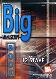 Big Manuscript Book 12 Stave, Mel Bay, 0786662581