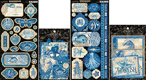 Die Cut Cardstock Stickers - 1