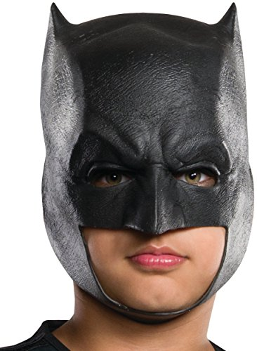 [Rubie's Costume Batman v Superman: Dawn of Justice Kid's Batman 3/4 Mask] (Batman Vinyl 3/4 Mask)