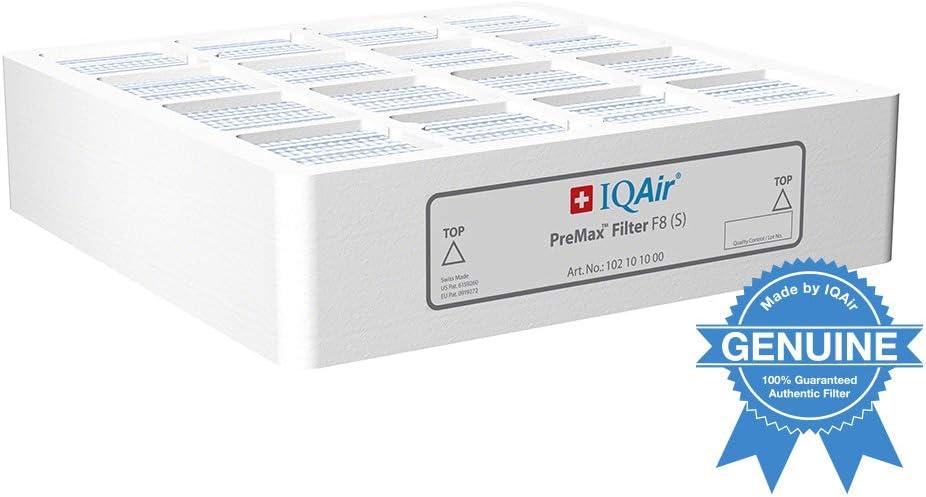 IQAir Genuine Original PreMax Pre-Filter [Medical-Grade Air] Allergies, Pets, Asthma, Odors, Smoke, Pollen, Dust; Swiss Made…