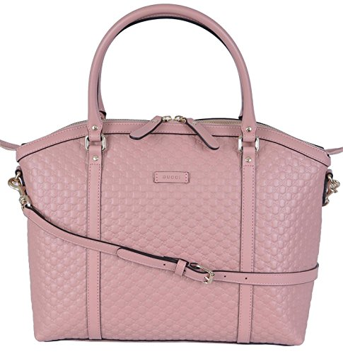 Gucci Women's Leather Micro GG Guccissim - Gucci Pink Shopping Results