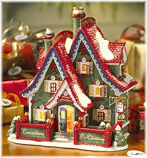 Department 56~North Pole~COUNTDOWN TO XMAS HEADQUARTERS by North Pole
