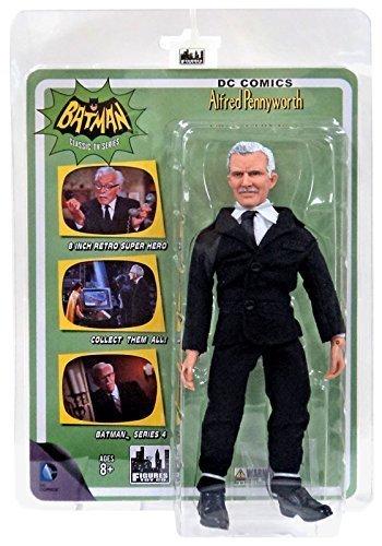 Batman 1966 Classic TV Series 4 Action Figure: Alfred Pennyworth by figure toys inc