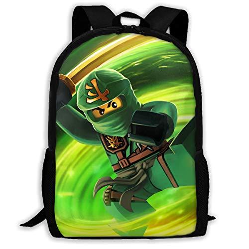 Fashion KO_Nin_ja School Bag Casual Rucksack Waterproof School Backpack Daypacks For Boy&Girl